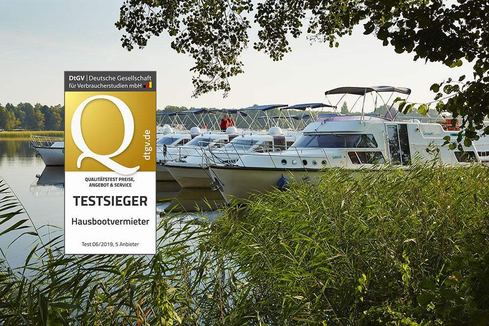 Bester Hausbootvermieter 2019: Locaboat Holidays zum Testsieger gekürt