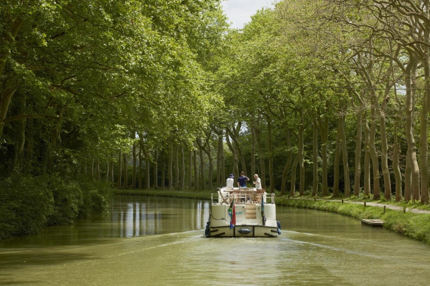 Frankreichs berühmteste Wasserstraße – Der Canal du Midi