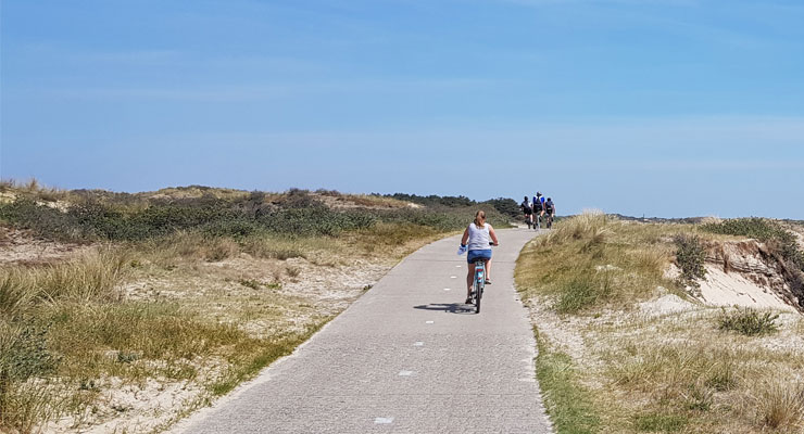 Fahrrad fahren - Hausbooturlaub Holland