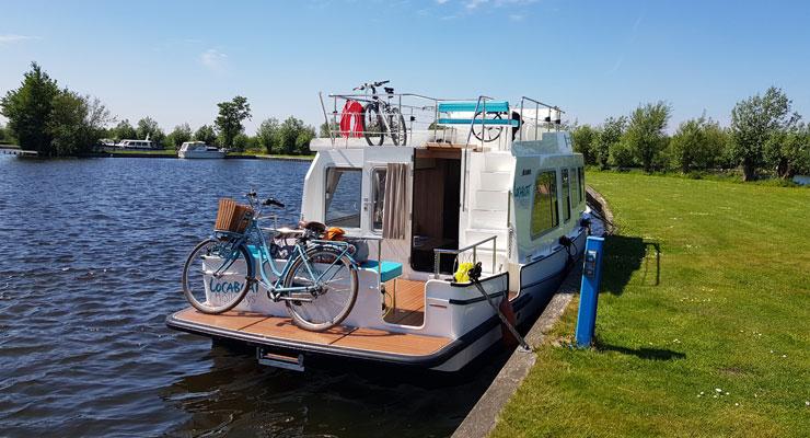 Hausbooturlaub in Holland