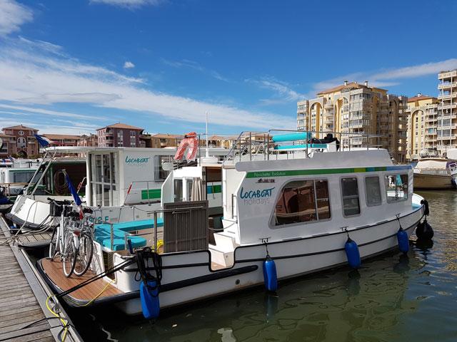 Où prendre le bateau pour le canal du Midi ?