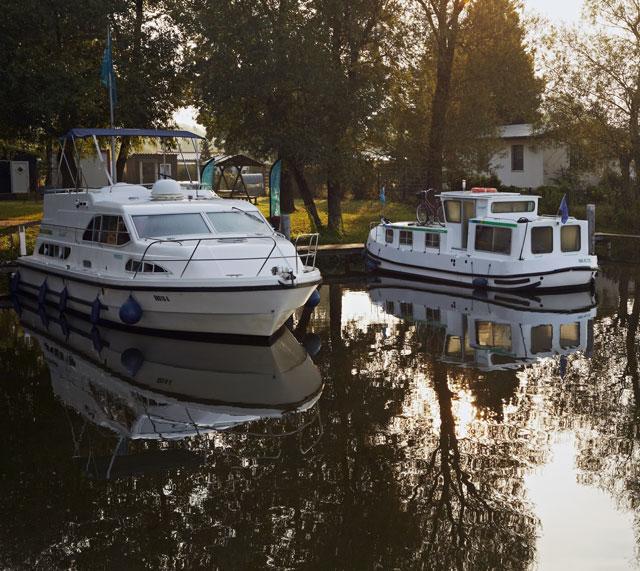 Ein Hausboot auf der Havel: Sterneurlaub der anderen Art