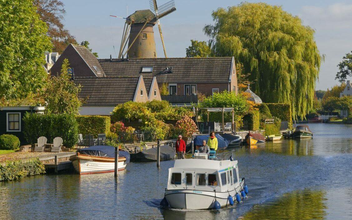 Wo kann man in Holland Boot fahren?