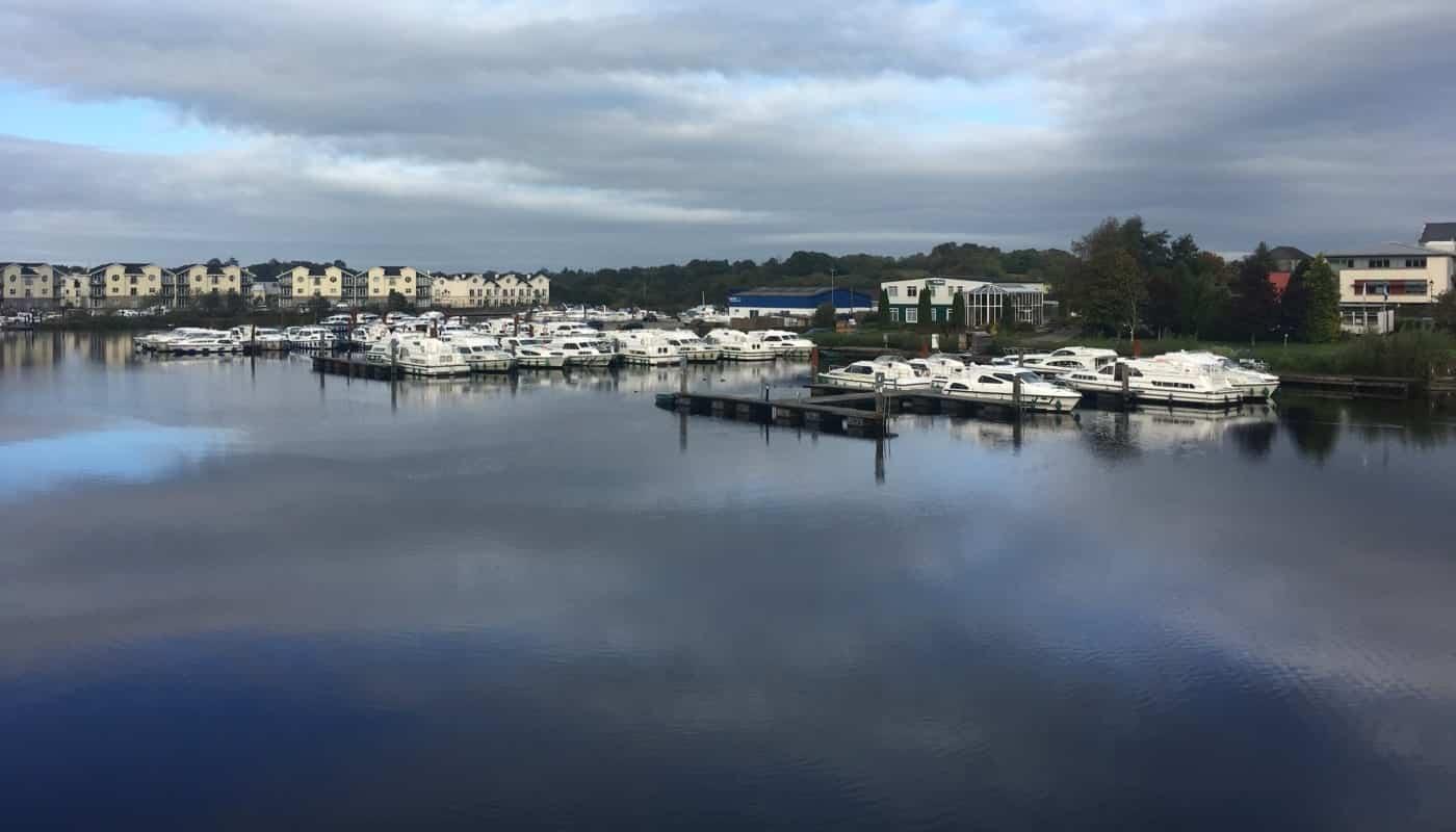 Hafen von Carrick in Irland