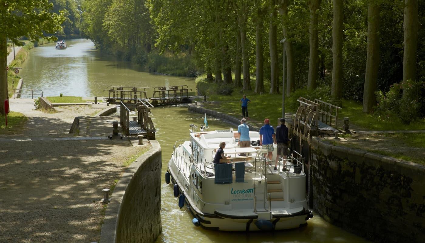 les écluses du Canal du Midi