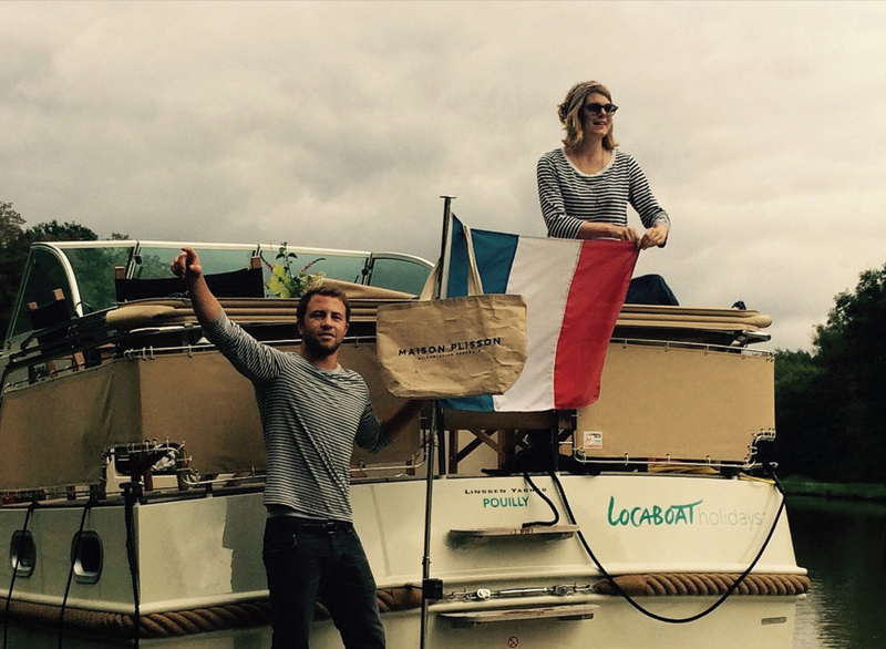 A weekend on a boat in the depths of Burgundy