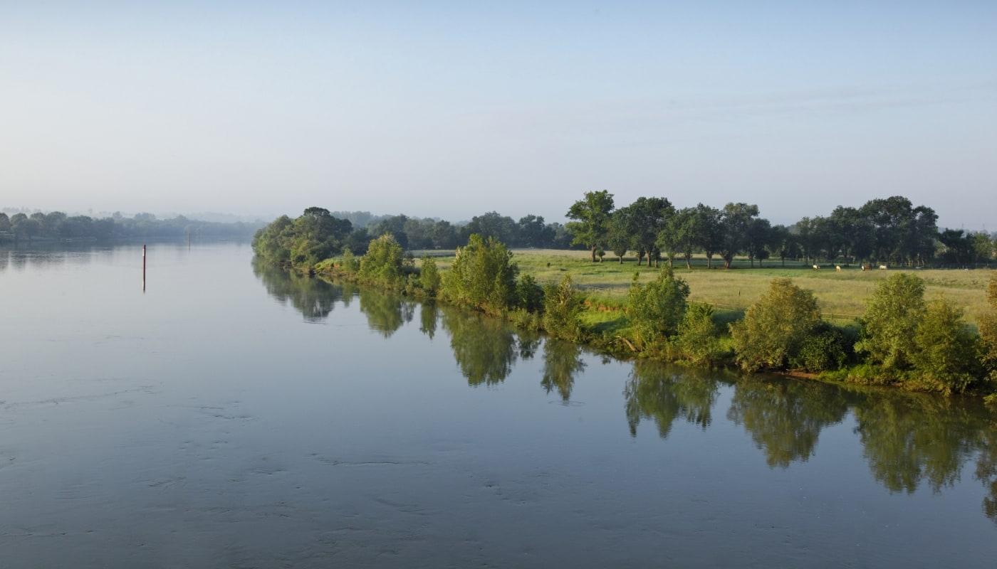 Nature près de Macon en Bourgogne